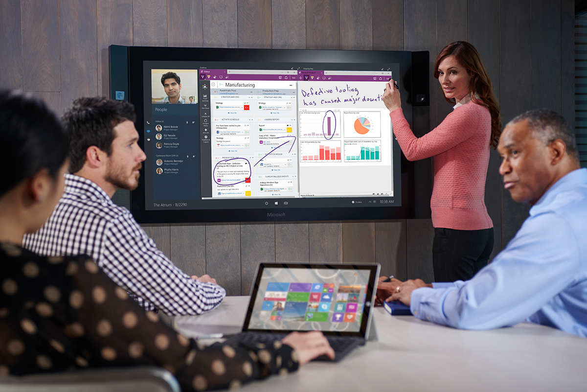 Microsoft Surface Hub Solutions and Services offered by Imaginet, 10 Time Microsoft Gold Partner