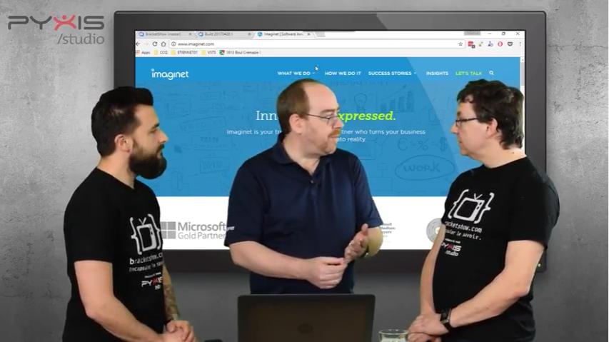 Imaginet Speaks: Visual Studio Team Services 2017