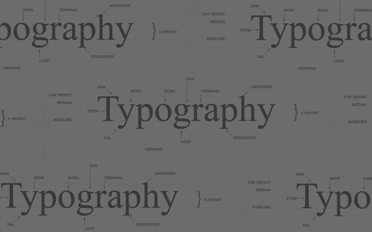 Trend Alert: Typography
