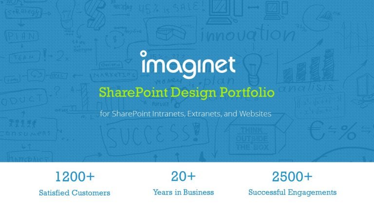 Imaginet SharePoint COnsulting Services - SharePoint consultants - Design Portfolio