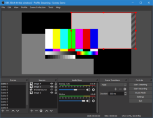 OBS Studio is a free and open source software for video recording and live streaming.